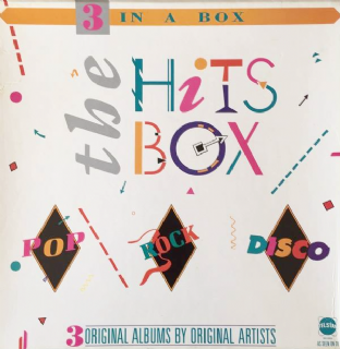 V/A - The Hits Box (3 x LP Box Set) (EX/VG-)